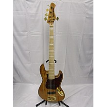 Used Bass Mods K35 Spalted Maple Electric Bass Guitar