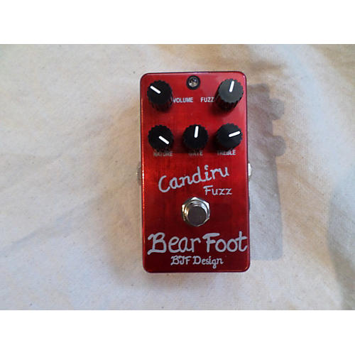 In Store Used Used Bear Foot Candiru Fuzz Effect Pedal