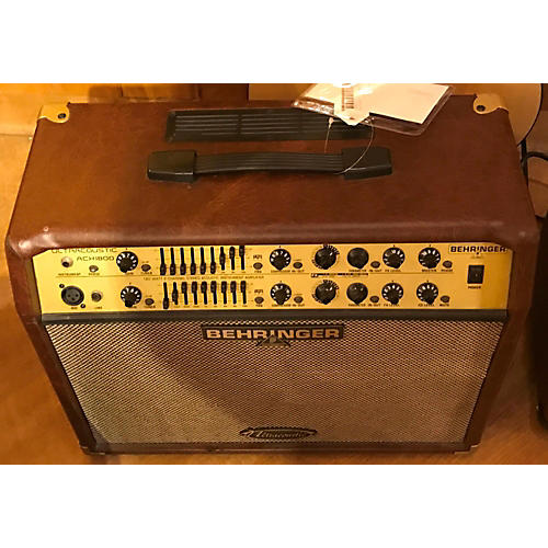 In Store Used Used Behinger ACX1800 Acoustic Guitar Combo Amp