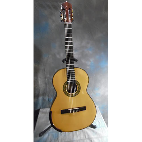 In Store Used Used Bellucci 2008 Custom Brazilian Rosewood Natural Classical Acoustic Guitar Natural