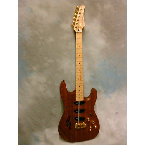 In Store Used Used Benford 2013 AF Thinline Custom Natural Brown Hollow Body Electric Guitar-thumbnail