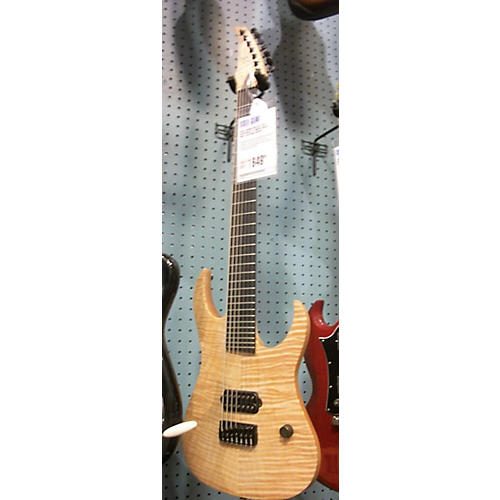 In Store Used Used Bernie Rico Jr. 2012 Hesperian 727 Maple Solid Body Electric Guitar-thumbnail