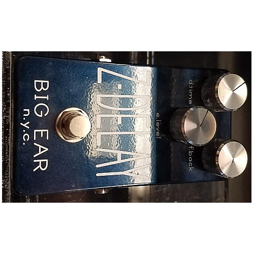 In Store Used Used Big Ear Nyc Z Delay Effect Pedal-thumbnail
