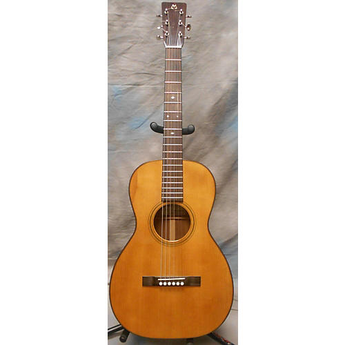 In Store Used Used Bil Mitchell Keystone Classic Koa Parlor Natural Acoustic Electric Guitar-thumbnail