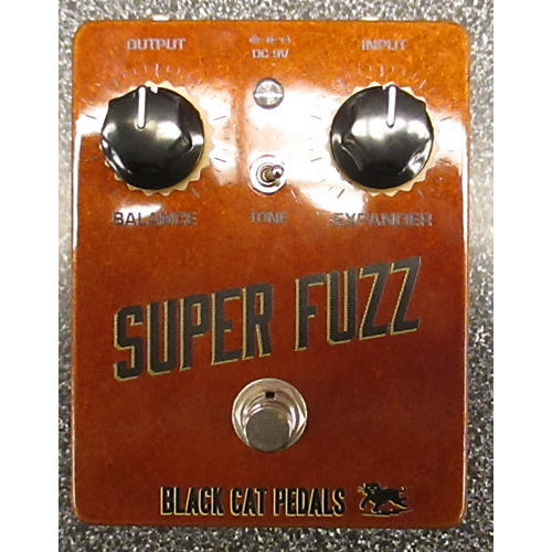 In Store Used Used Black Cat Pedals 2000s Super Fuzz Effect Pedal-thumbnail
