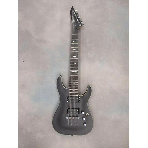 In Store Used Used Blackhart Btk7 Black Solid Body Electric Guitar-thumbnail