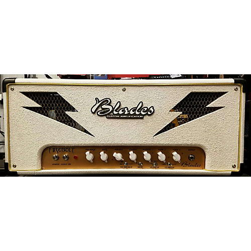 In Store Used Used Blades Custom Amplification Firebolt Tube Guitar Amp Head-thumbnail