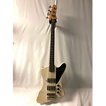 Used Bluesman Vintage Superbird Olympic White Electric Bass Guitar