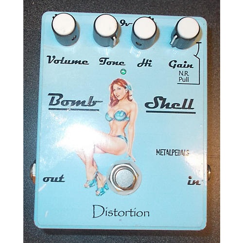 In Store Used Used Bomb Shell Distortion Effect Pedal-thumbnail