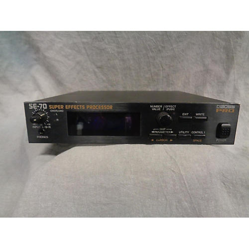 In Store Used Used Boss Pro SE-70 Effect Processor