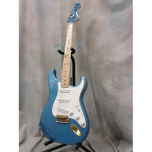 In Store Used Used Bradley Solid Blue Solid Body Electric Guitar