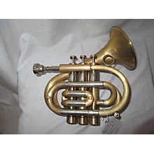 Used Brasspire Pocket Trumpet Trumpet