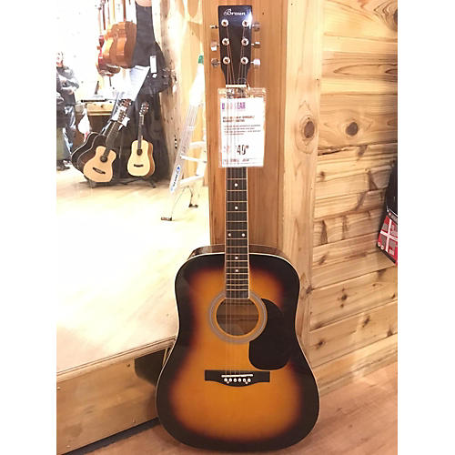 In Store Used Used Braun 41 Sunburst Acoustic Guitar