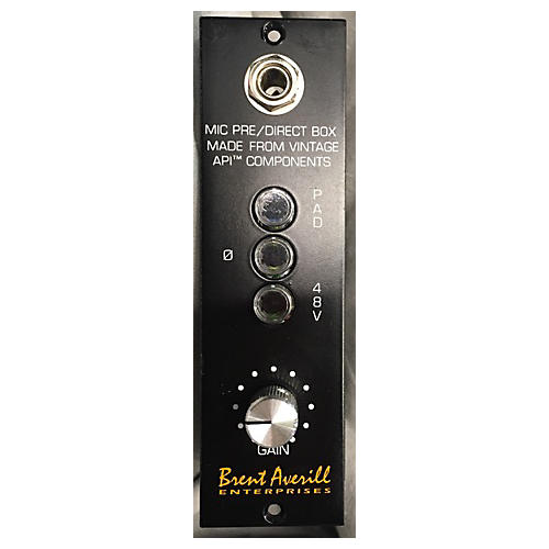 In Store Used Used Brent Averill 1960s 312 Microphone Preamp
