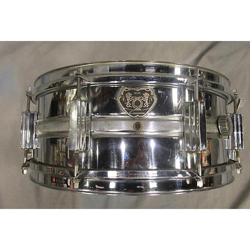 In Store Used Used Bruno 5.5X14 Conquerer Chrome Drum-thumbnail