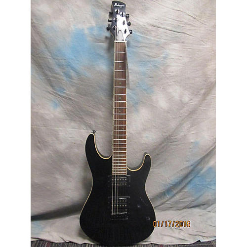 In Store Used Used Budagov 2013 IB805 Metallic Black Solid Body Electric Guitar