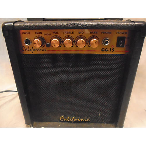 In Store Used Used CALIFORNIA CG15 Guitar Combo Amp