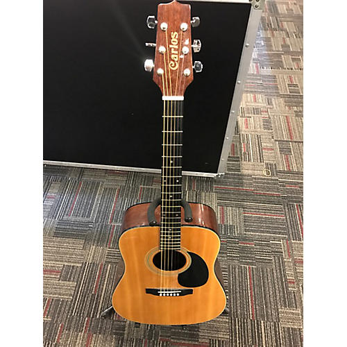 In Store Used Used CARLOS BY JASMINE S33 Natural Acoustic Guitar