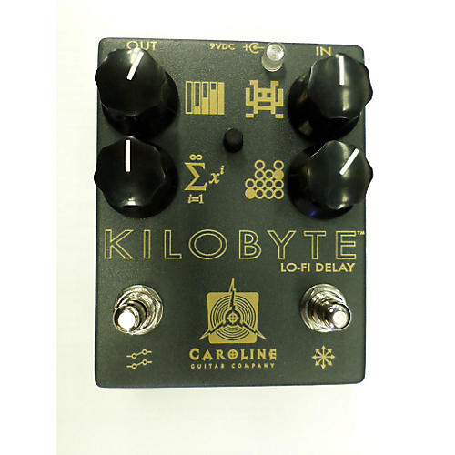 In Store Used Used CAROLINE KILOBYTE DELAY Effect Pedal