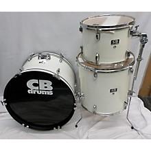 Used CB Drums 3 piece SP Series White Drum Kit