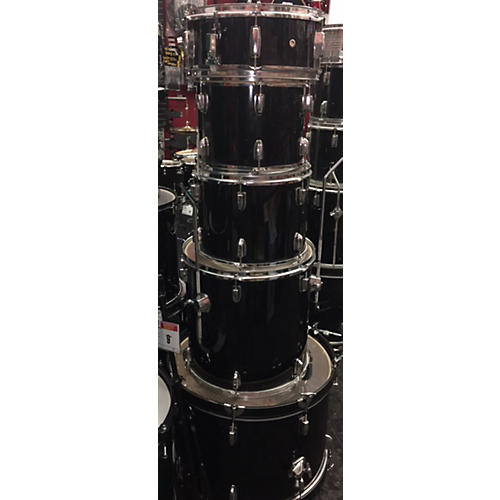 In Store Used Used CB Drums 5 piece SP Series Black Drum Kit