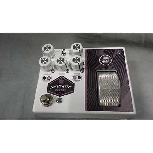 In Store Used Used CLASSIC AUDIO AMETHYST REVERB Effect Pedal