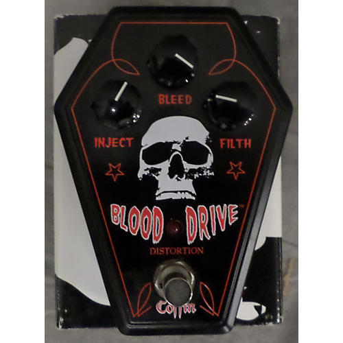 In Store Used Used COFFIN BLOOD DRIVE Effect Pedal