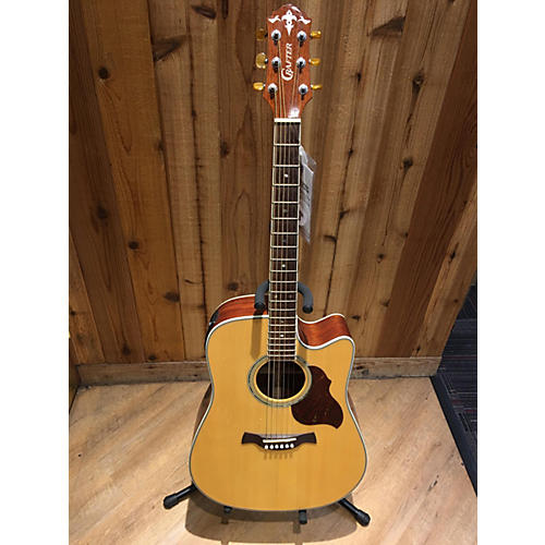 In Store Used Used CRAFTER D8 Natural Acoustic Electric Guitar