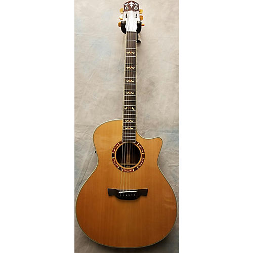In Store Used Used CRAFTER KGAE18 Natural Acoustic Electric Guitar