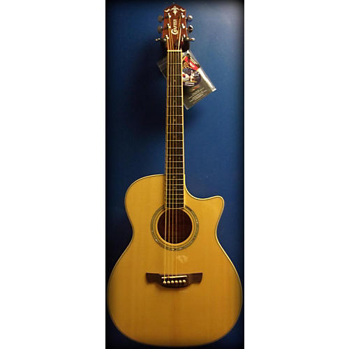 In Store Used Used CRAFTER TE 9/N Natural Acoustic Electric Guitar