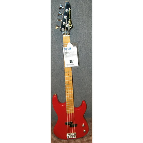 In Store Used Used CRUISE DOUBLE CUT BASS Red Electric Bass Guitar-thumbnail