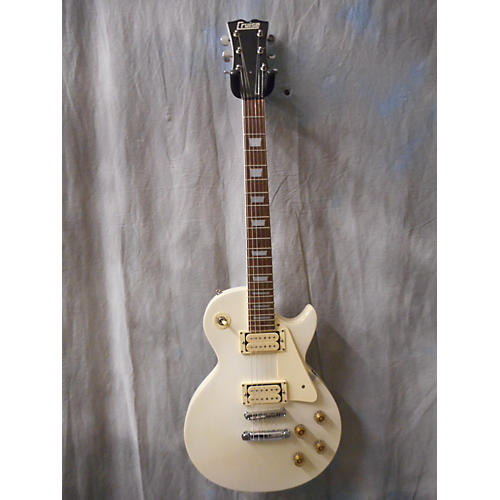 In Store Used Used CRUISE ELECTRIC SINGLE CUTAWAY White Solid Body Electric Guitar-thumbnail