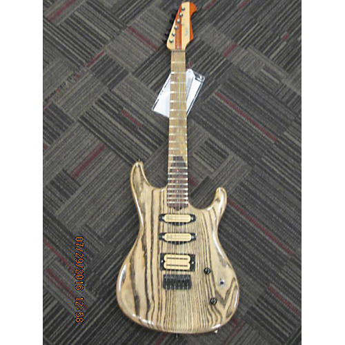 In Store Used Used CUSTOM RUSCH 2016 SWAMP ASH STRAT REPLICA Natural Solid Body Electric Guitar-thumbnail