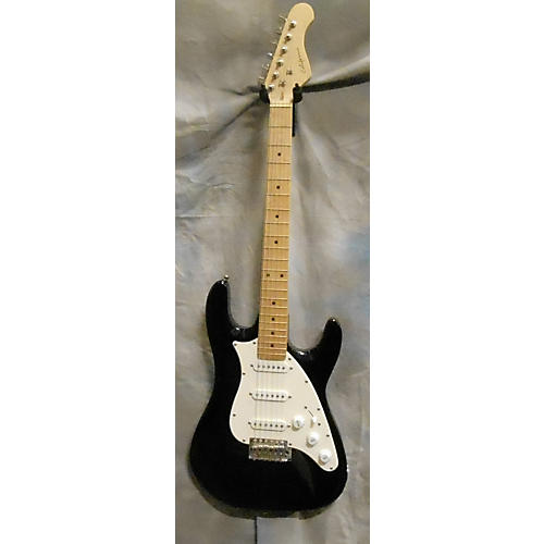 In Store Used Used California Strat Black Solid Body Electric Guitar-thumbnail