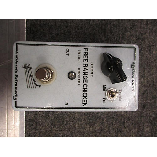 In Store Used Used California Valveworks Free Range Chicken Effect Pedal