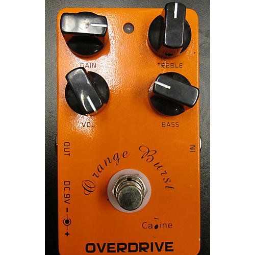 In Store Used Used Caline Orange Burst Effect Pedal