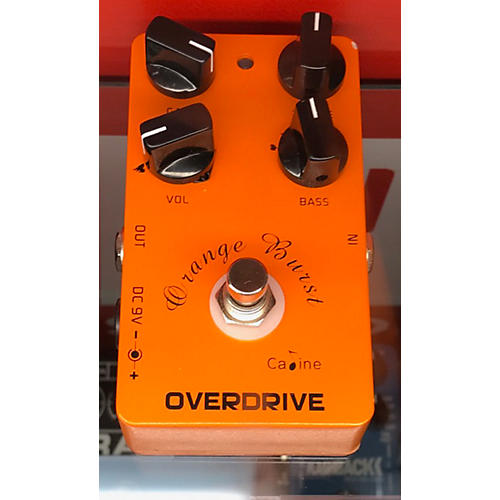 In Store Used Used Caline Overdrive Effect Pedal