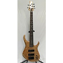 Used Carl S CS5 Highly Flamed Maple Electric Bass Guitar