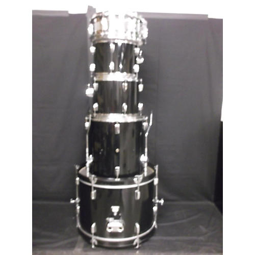 In Store Used Used Cb700 1994 5 piece Sp Series Black Drum Kit-thumbnail