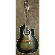 Used Celebrity By Ovation Cc57 Green Acoustic Electric Guitar