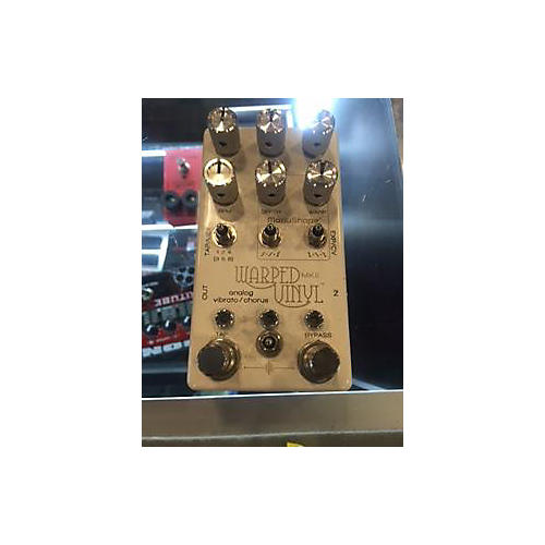 In Store Used Used Chase Bliss Audio Warped Vinyl Effect Pedal