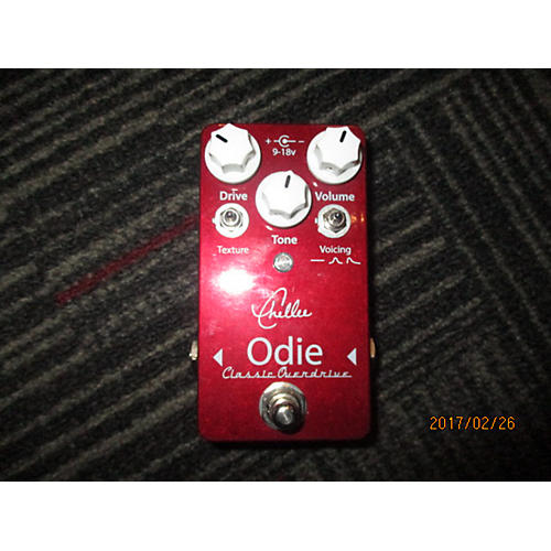 In Store Used Used Chellee Odie Classic Overdrive Effect Pedal