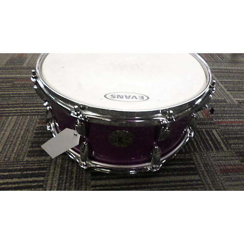 In Store Used Used Chicago Custom Percussion Snare 5.5X14 Custom Snare Drum Keller Shell Purple Sparkle Drum-thumbnail