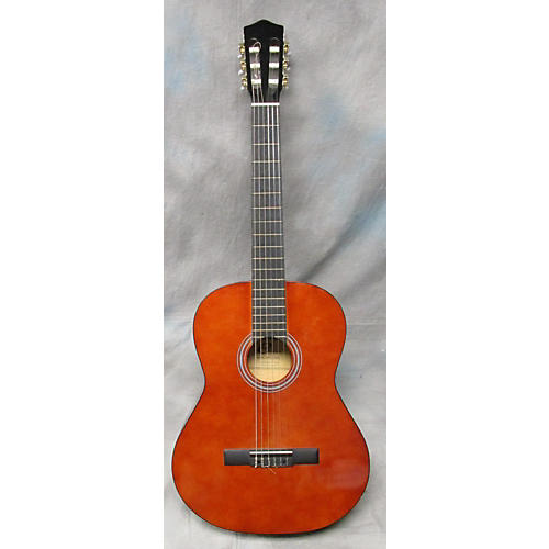 In Store Used Used Cleca DAG-1N-39-9 TAN Classical Acoustic Guitar-thumbnail