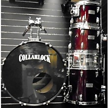 Used Collarlock 5 piece Import Series Red Drum Kit