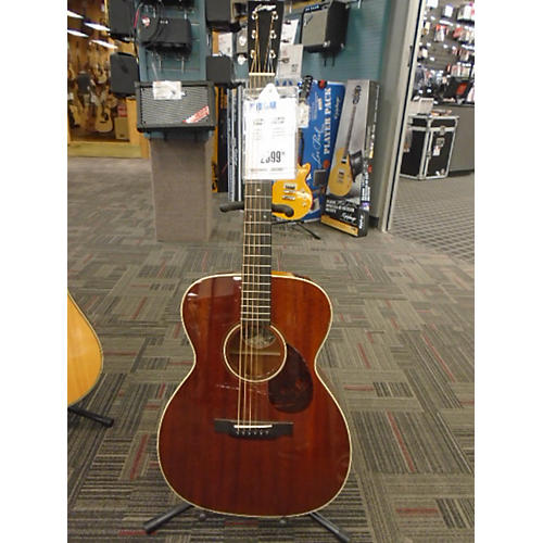In Store Used Used Collins OM2 Mah Natural Acoustic Guitar-thumbnail