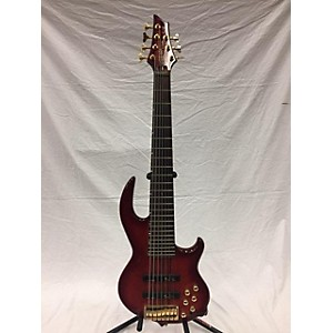 Pre-owned Pre-owned Conklin Groove Tools Bill Dickens Signature Red Electric Bass Gui...