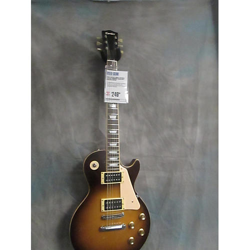 In Store Used Used Cortley Single Cutaway Vintage Sunburst Solid Body Electric Guitar