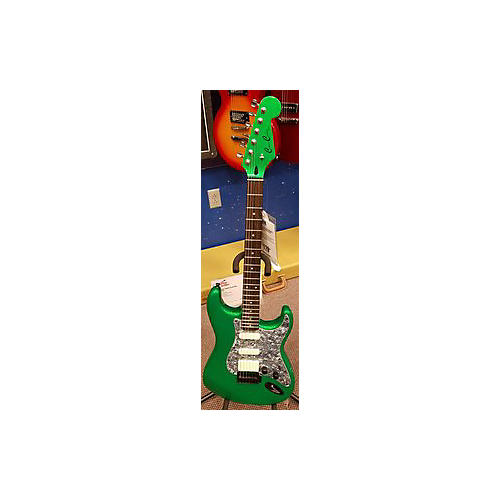 In Store Used Used Counce Custom Guitars S Style HSS Green Solid Body Electric Guitar