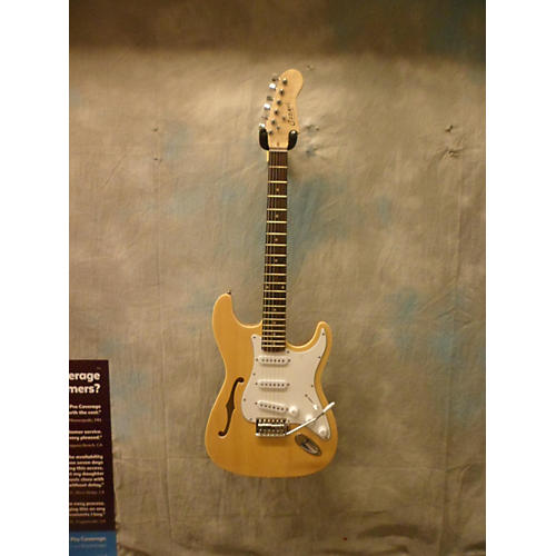 In Store Used Used Cozart 2015 Semi-Hollow Thinline SSS Natural Hollow Body Electric Guitar